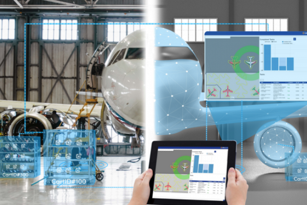 Improving Business Efficiency in an Aerospace MRO Environment – Defining the Digital Twin