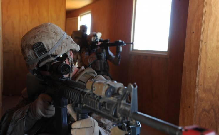 Military Training Scenario