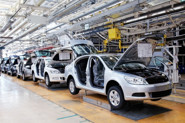 Assembly Line in the Automotive Industry
