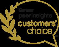 Gartner peer insights - Customers choice
